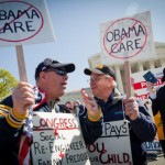 Healthcare protesters