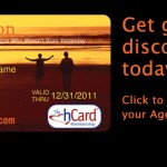 The hCard discount card for baby boomers & seniors is cheaper through AgeNation