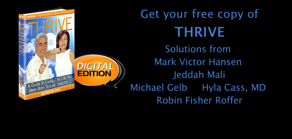 AgeNation's Thrive eBook Slider Image