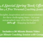A Special Spring Book Offer